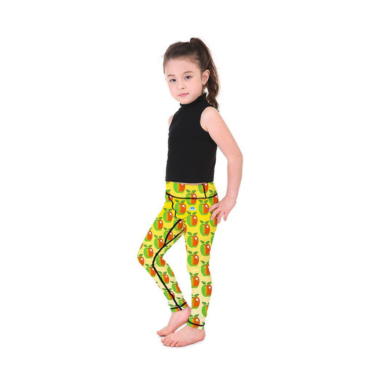 Kid's LotusX™ Apple Pickin' Leggings - Lotus Leggings