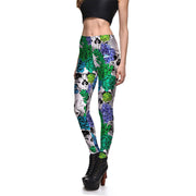Blossom Skulls Leggings - Lotus Leggings