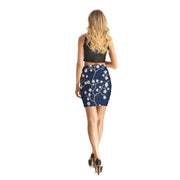 Heliotrope Bodycon Skirt - Lotus Leggings