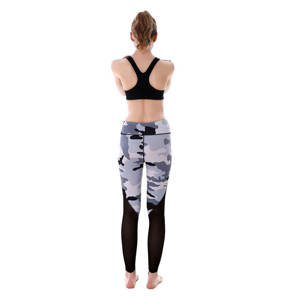 Gray Camo MaxReveal Leggings - Lotus Leggings