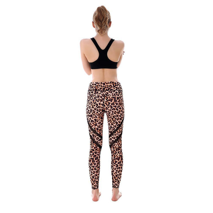 Cheetah Girl MaxPerformance Leggings - Lotus Leggings