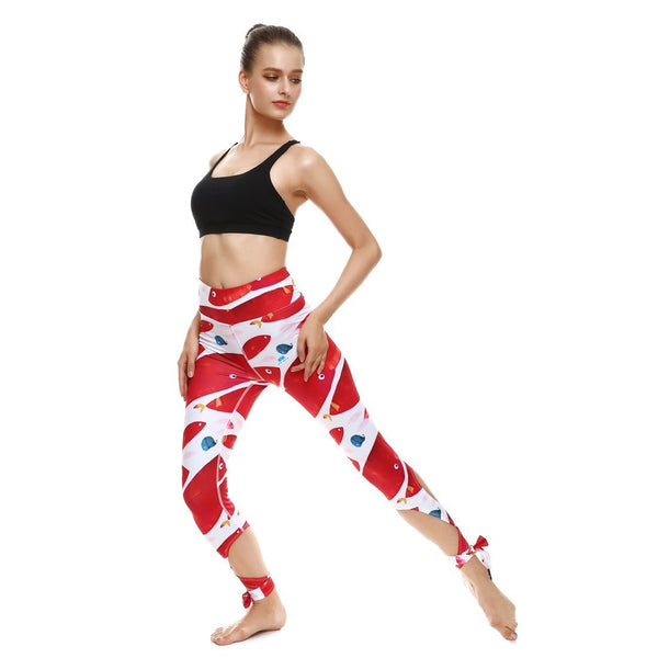 Fishy Business Tie-Up Leggings - Lotus Leggings