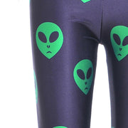 ALIEN LEGGINGS - Lotus Leggings