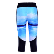 BEACH ATHLETIC CAPRI - Lotus Leggings