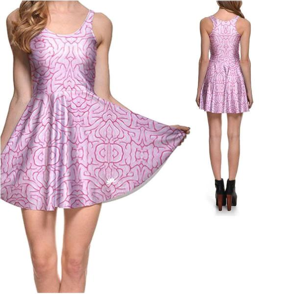 BRAINS SKATER DRESS - Lotus Leggings