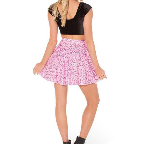 BRAINS SKATER SKIRT - Lotus Leggings