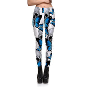 BUTTERFLY SKULL LEGGINGS