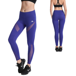 Bold Blue MaxSwipe Leggings