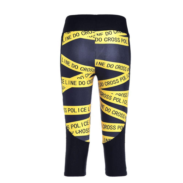 CAUTION ATHLETIC CAPRI - Lotus Leggings