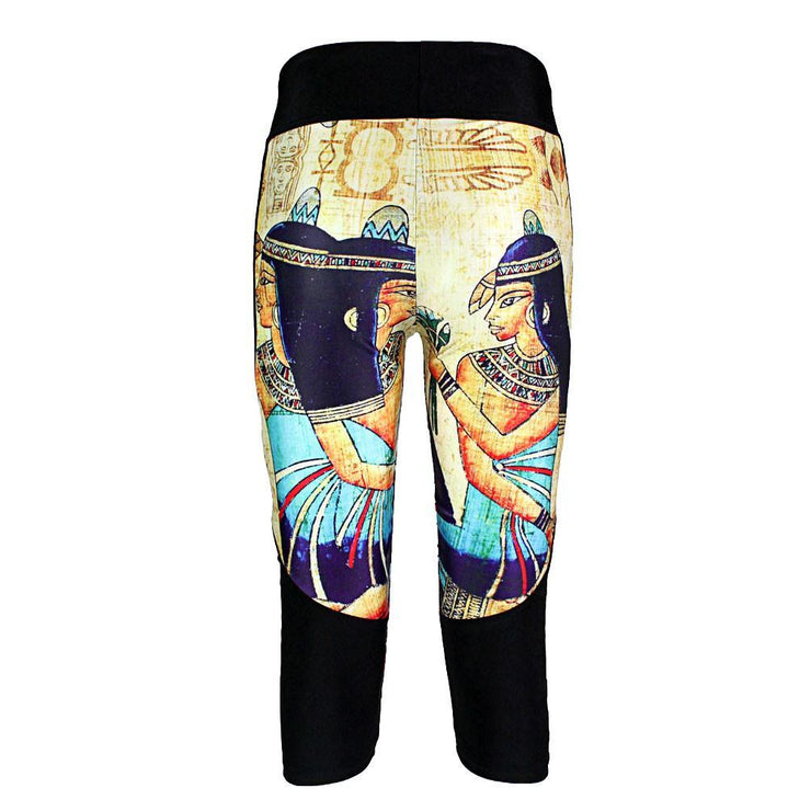 CLEOPATRA ATHLETIC CAPRI - Lotus Leggings
