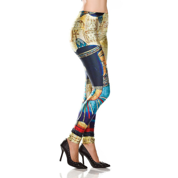 CLEOPATRA LEGGINGS - Lotus Leggings