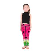 Kid's LotusX™ Wacky Watermelon Leggings - Lotus Leggings