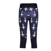 CROSS ATHLETIC CAPRI - Lotus Leggings