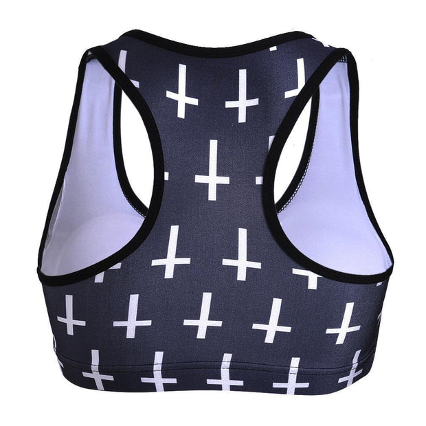 CROSS SPORTS BRA - Lotus Leggings