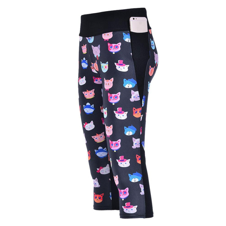 CUTE KITTIES ATHLETIC SET - Lotus Leggings