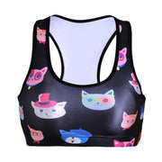 CUTE KITTIES SPORTS BRA - Lotus Leggings