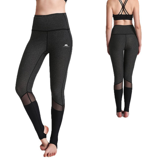 Charcoal HeelX Leggings - Lotus Leggings