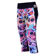 DAY OF THE DEAD ATHLETIC SET - Lotus Leggings