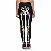DAY OF THE DEAD ATHLETIC LEGGINGS - Lotus Leggings