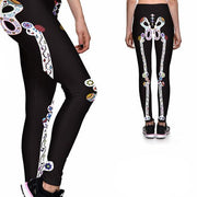 DAY OF THE DEAD ATHLETIC LEGGINGS