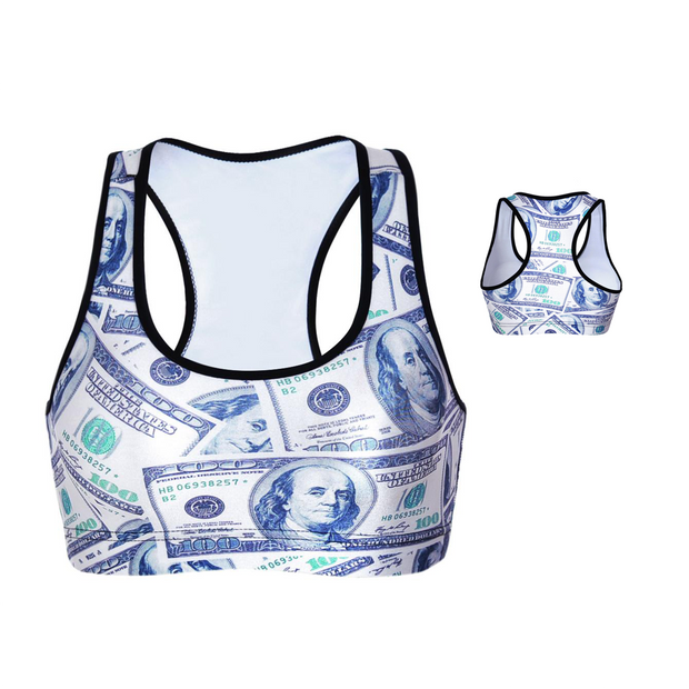 DOLLA DOLLA BILL SPORTS BRA - Lotus Leggings