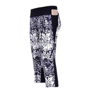 ELEGANT VINE ATHLETIC CAPRI - Lotus Leggings