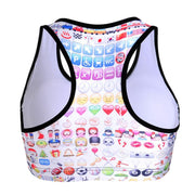 EMOJIS SPORTS BRA - Lotus Leggings