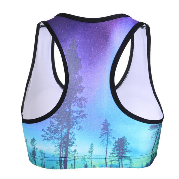 ENCHANTED FOREST SPORTS BRA - Lotus Leggings