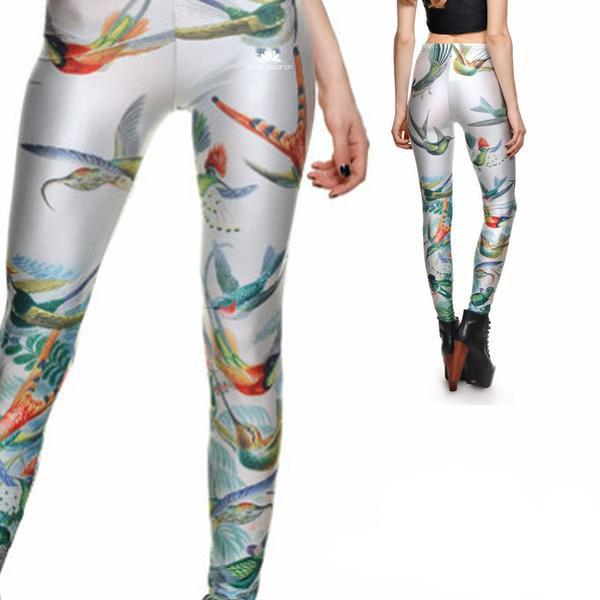 EXOTIC BIRDS LEGGINGS - Lotus Leggings