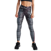 WHITE DOTS PRINTED LEGGINGS