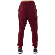 Wine Red Joggers - Lotus Leggings