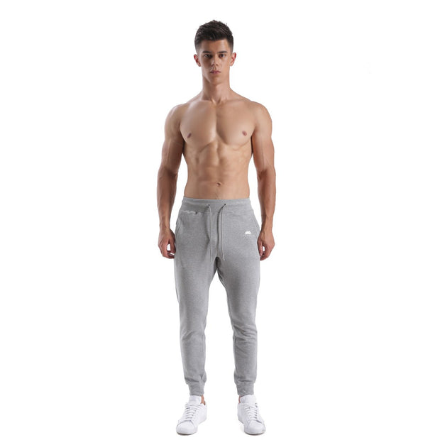GREY WARRIOR MEN'S FIT JOGGERS