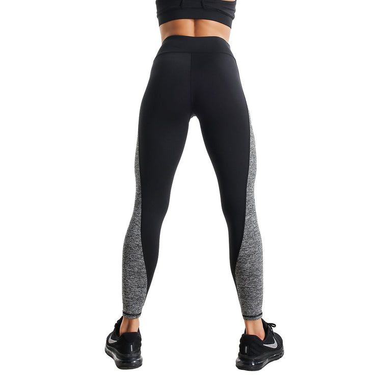 BLACK TRAINING LEGGINGS