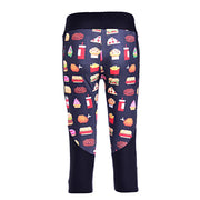 FASTFOOD YUM  ATHLETIC CAPRI - Lotus Leggings