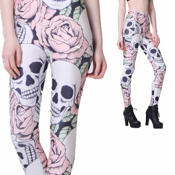 FORBIDDEN ROSE LEGGINGS