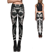 FLOWER EYES SKULL LEGGINGS