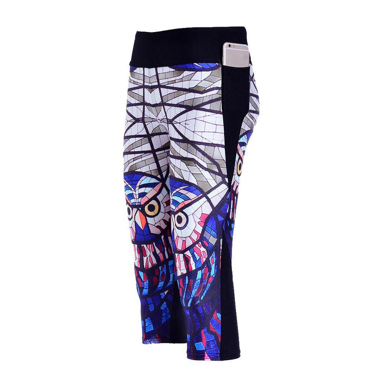 GLASS OWL ATHLETIC SET - Lotus Leggings