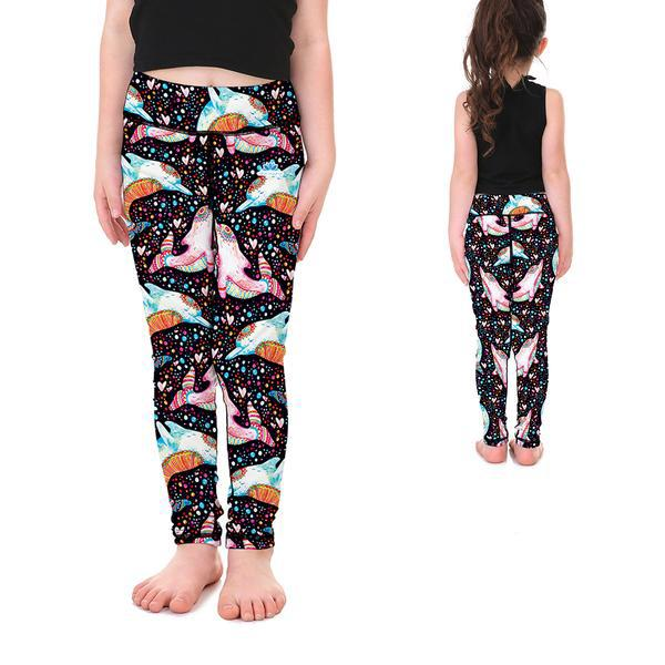 HIPPY DOLPHINS KID'S LEGGINGS