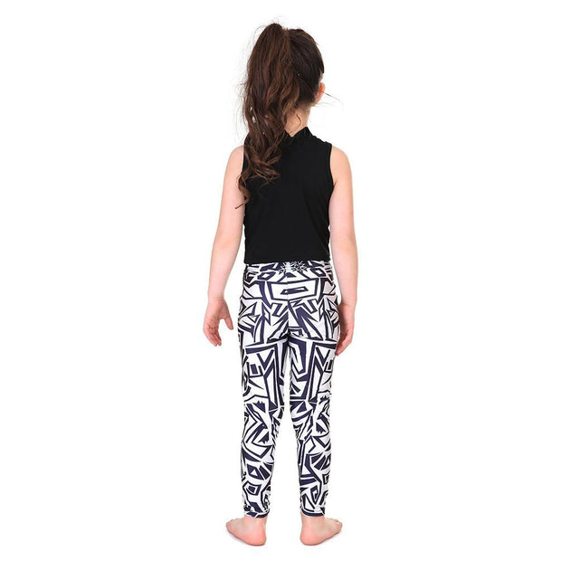 Kid's Maze Leggings - Lotus Leggings