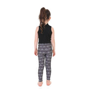 Kid's Wallpaper Leggings - Lotus Leggings