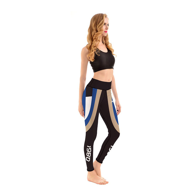 BACK TO THE 80'S PRINTED LEGGINGS