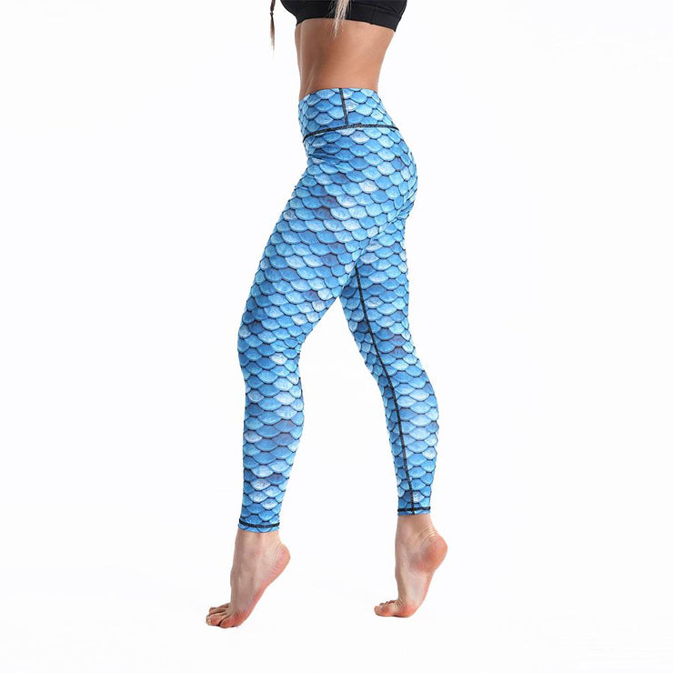 LOTUSXLITE MARBLE MERMAID LEGGINGS
