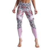 LOTUSXLITE SKULLS AND STRIPES LEGGINGS