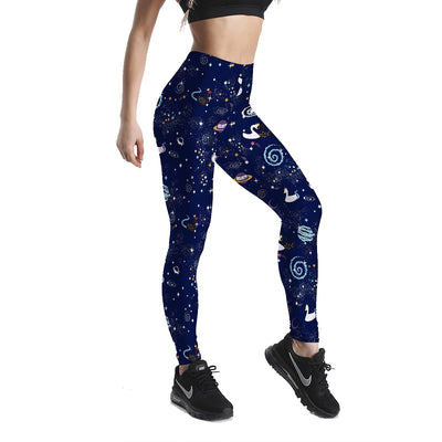 WARMHOLE PATTERNED LEGGINGS