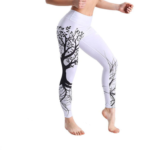 LOTUSXLITE BLACK TREE LEGGINGS