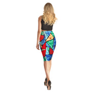 Artsy Triangle Long Skirt - Lotus Leggings
