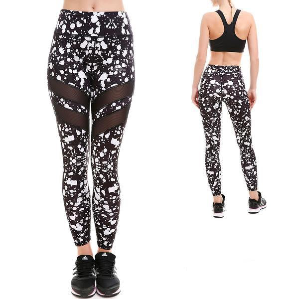 MONOCHROME SPLATTER MAXAIR LEGGINGS