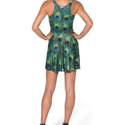 PEACOCK SKATER DRESS - Lotus Leggings
