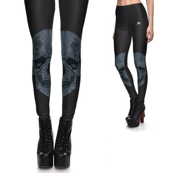 SUBTLE SKULL LEGGINGS