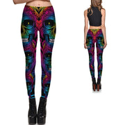 Rainbow Zombie Leggings - Lotus Leggings